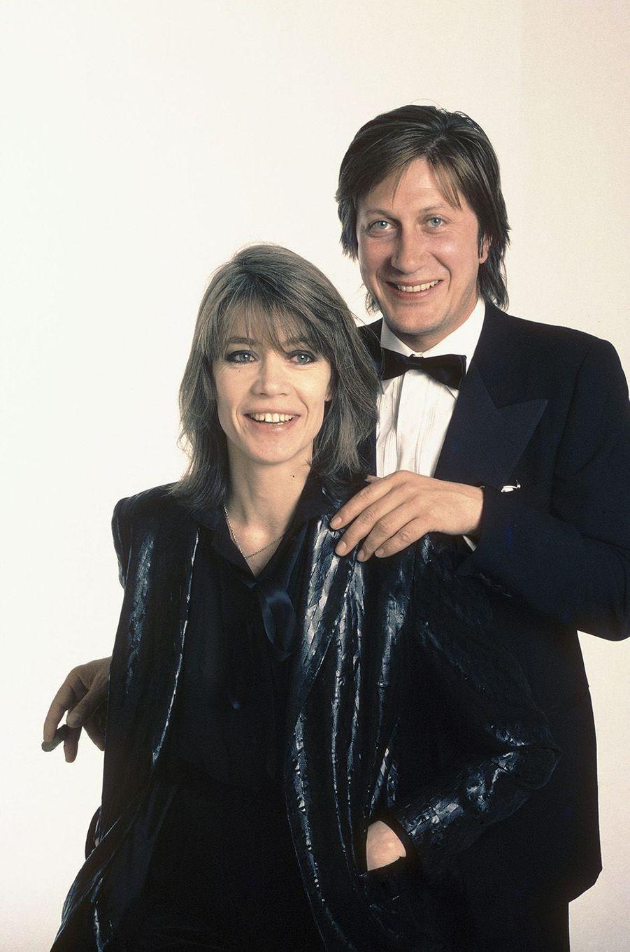 Jacques Dutronc et Françoise Hardy.