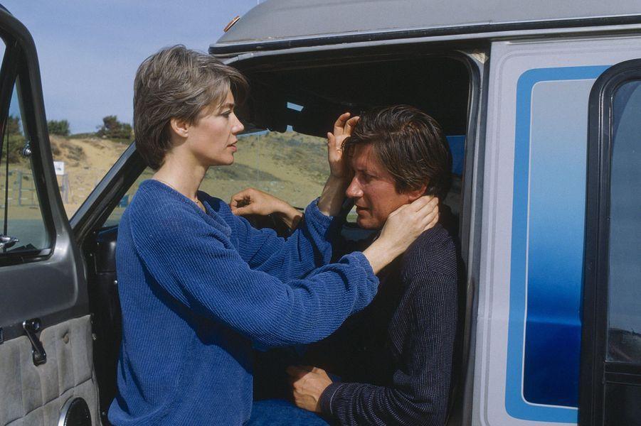 Jacques Dutronc et Françoise Hardy en vacances en Andalousie.