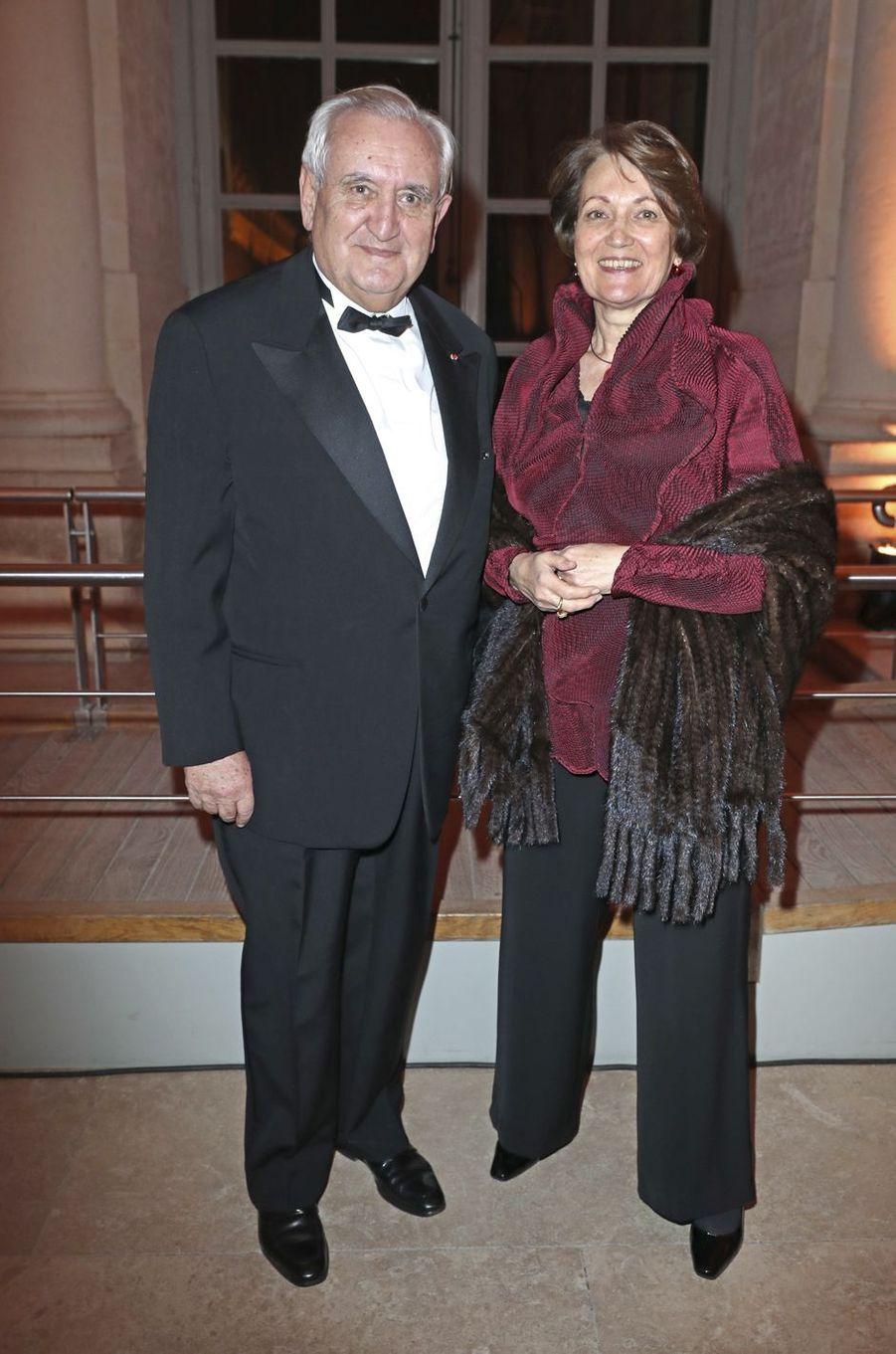 Jean-Pierre et Anne-Marie Raffarin.