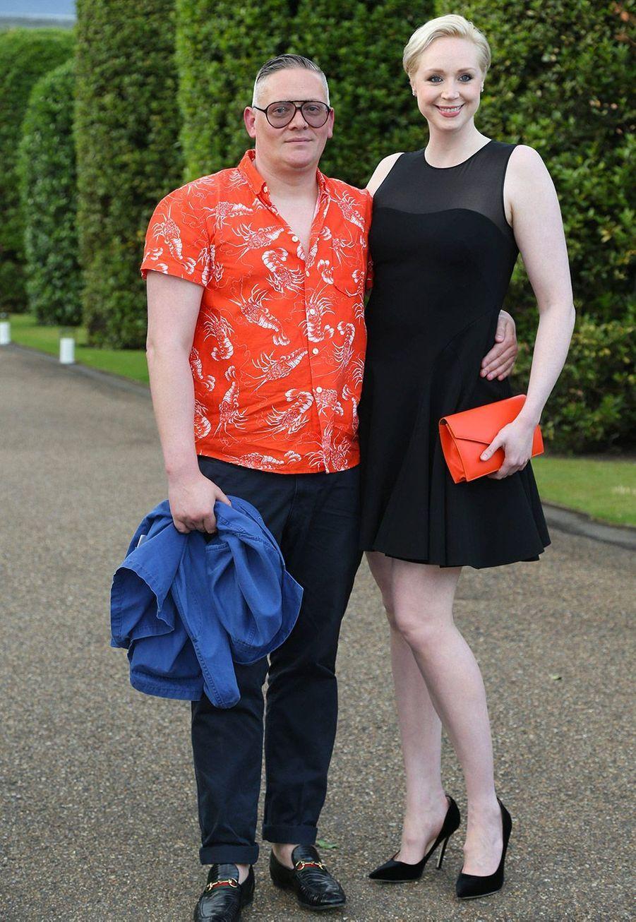 Gwendoline Christie et Giles Deacon