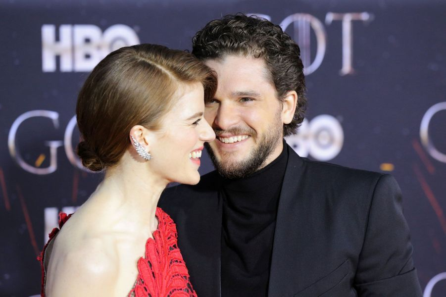 Kit Harington et Rose Leslie
