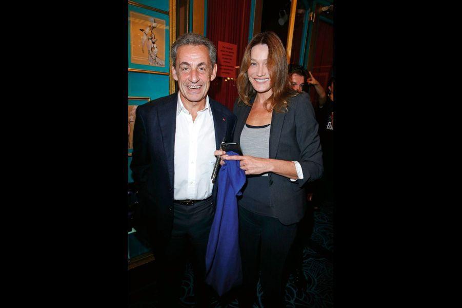 Nicolas et Carla Sarkozy.
