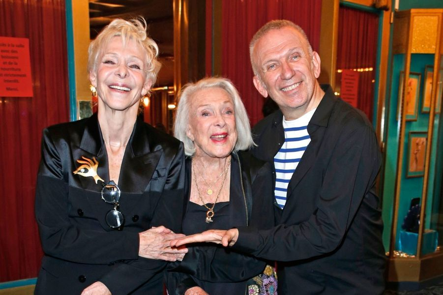 Tonie Marshall, Micheline Presle, Jean Paul Gaultier.