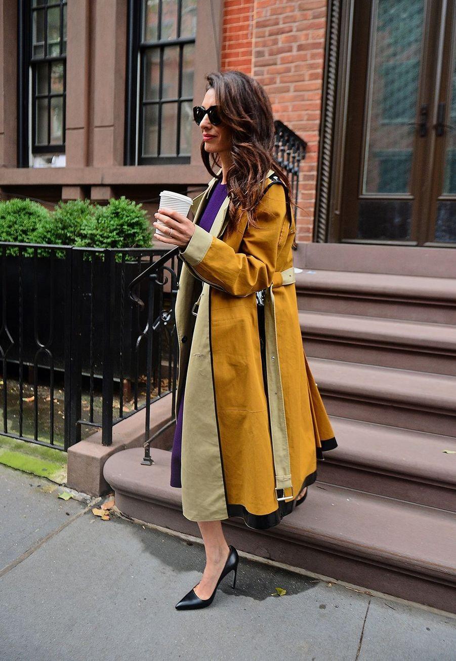 Amal Clooneyà New York le 1er octobre 2019
