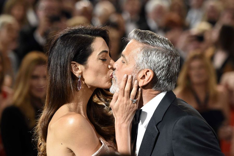 George et Amal Clooney auxAmerican Film Institute Life Achievement Awards jeudi soir à Los Angeles