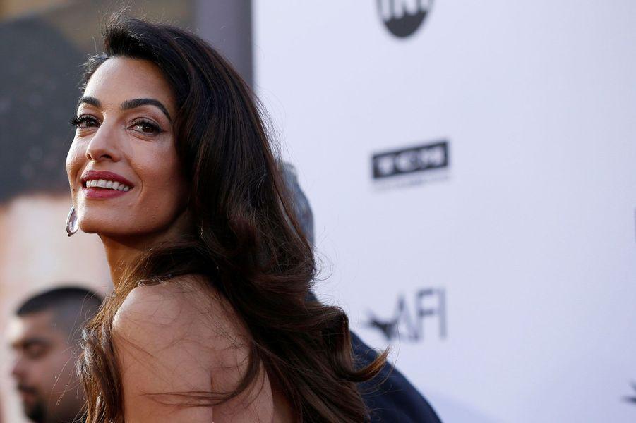 Amal Clooney auxAmerican Film Institute Life Achievement Awards jeudi soir à Los Angeles