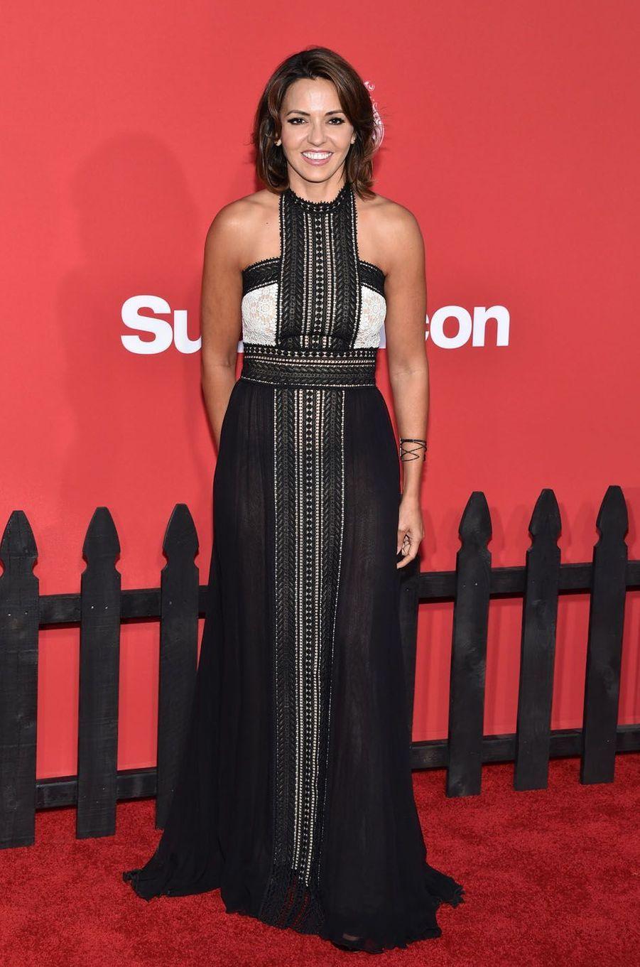 """Luciana Barrosoà l'avant-première de """"Suburbicon"""", le 22 octobre 2017 à Los Angeles."""