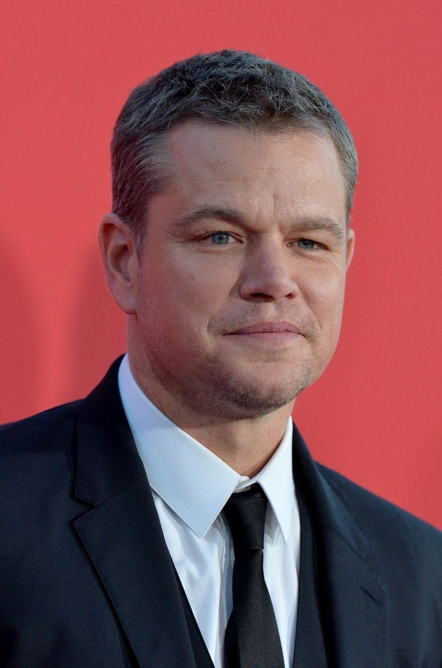 """Matt Damonà l'avant-première de """"Suburbicon"""", le 22 octobre 2017 à Los Angeles."""
