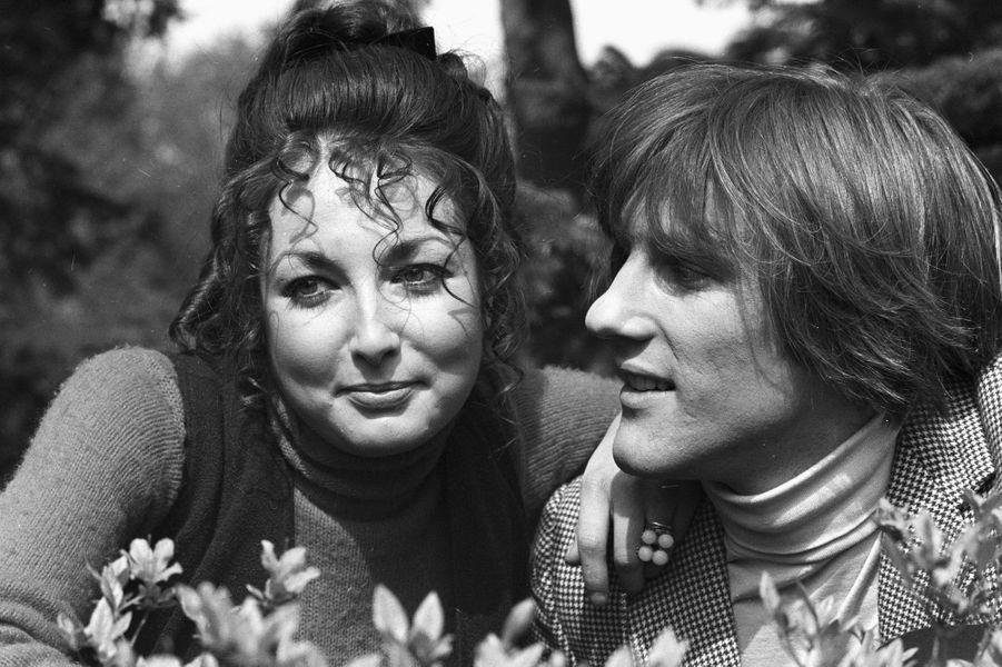 Gérard Depardieu en 1969