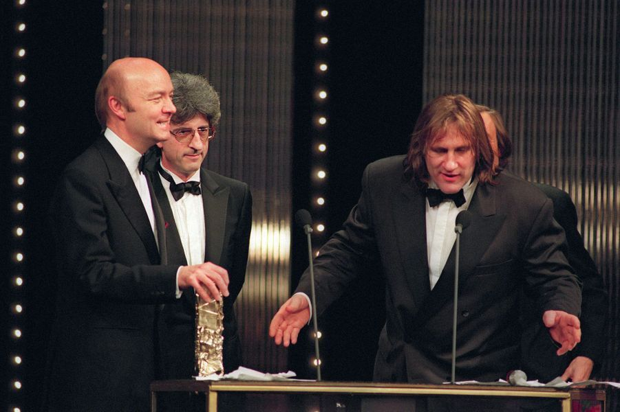 Gérard Depardieu en 1991