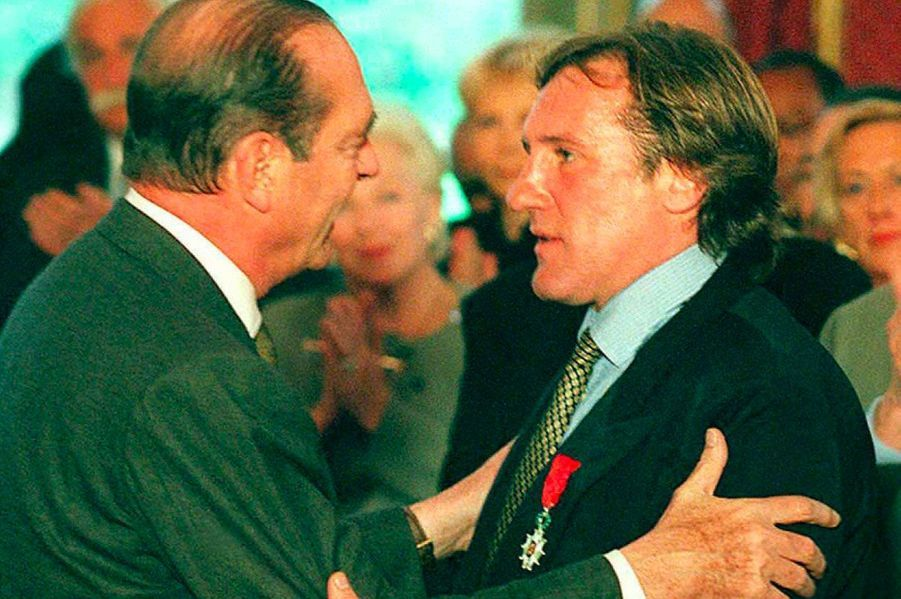 Gérard Depardieu en 1996