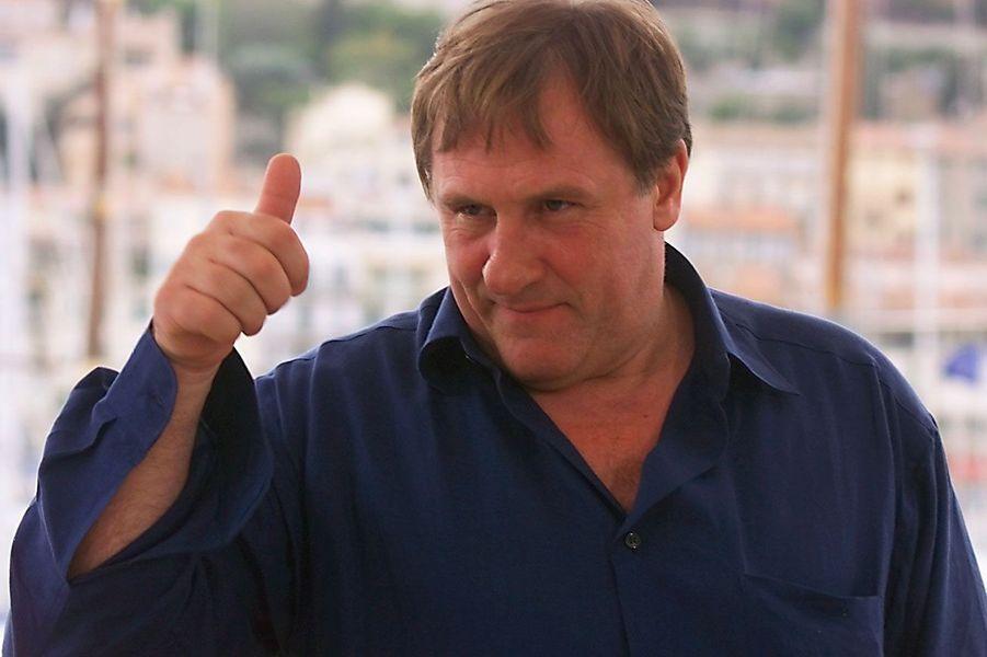 Gérard Depardieu en 2000