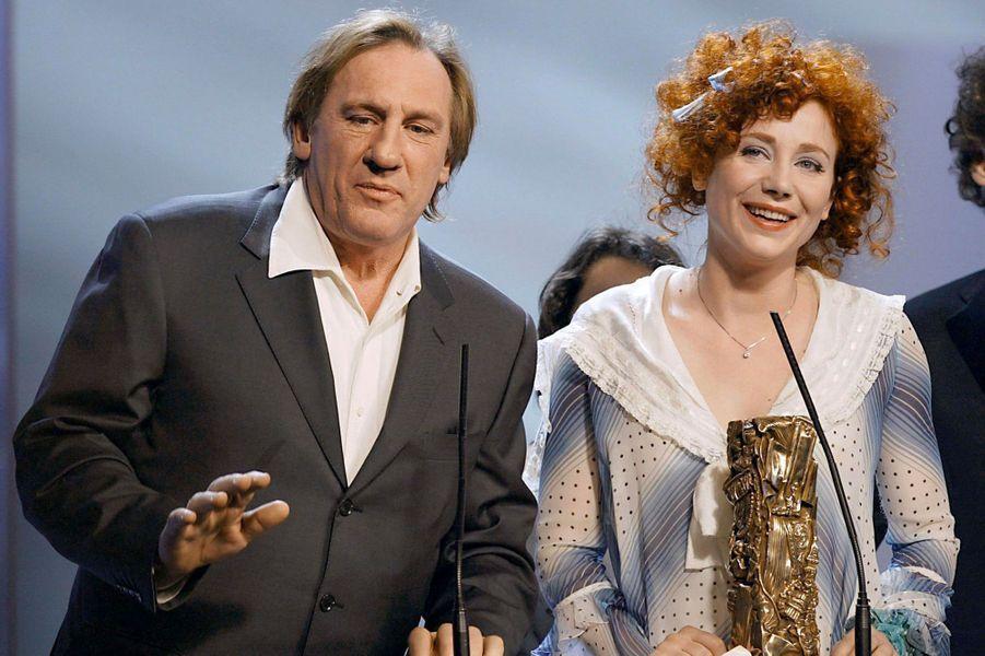 Gérard Depardieu en 2004