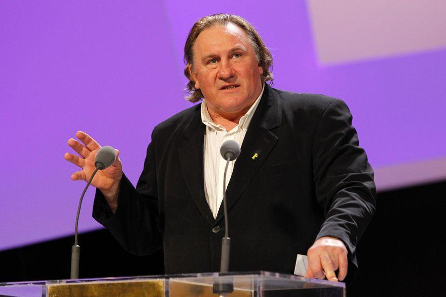Gérard Depardieu en 2010