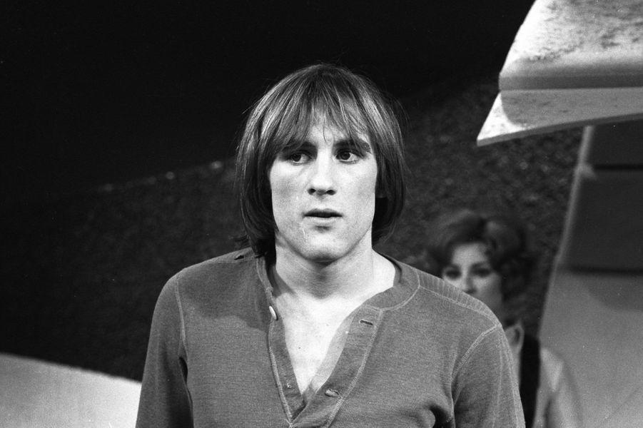 Gérard Depardieu en 1970