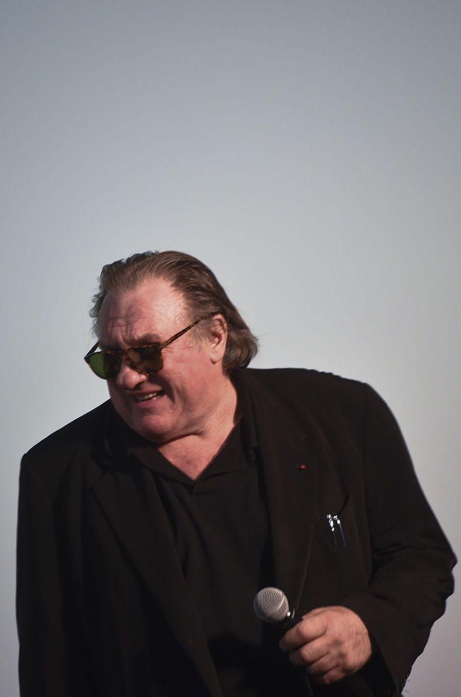 Gérard Depardieu en 2016