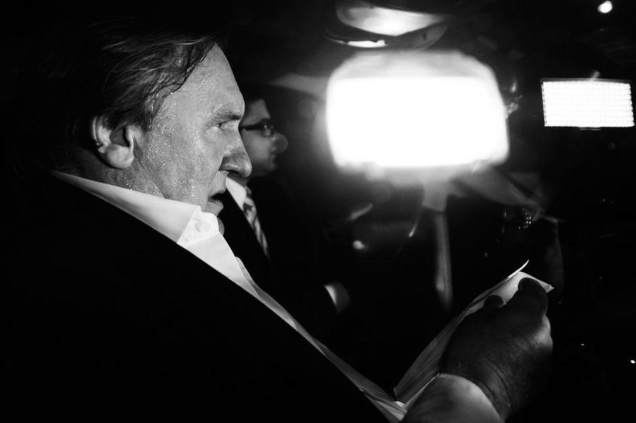 Gérard Depardieu en 2014