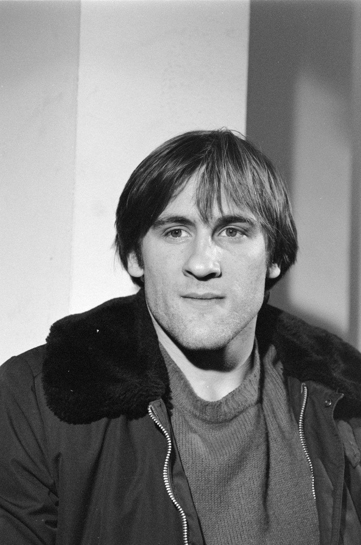 Gérard Depardieu en 1974