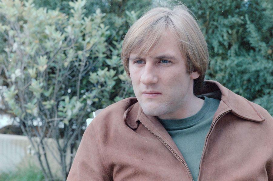Gérard Depardieu en 1978