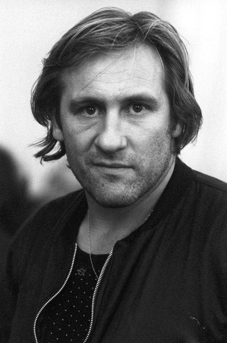 Gérard Depardieu en 1987