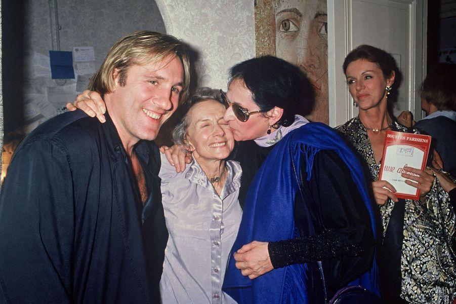 Gérard Depardieu et Barbara