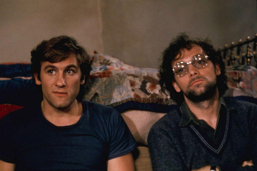 Gérard Depardieu et Patrick Dewaere en 1978