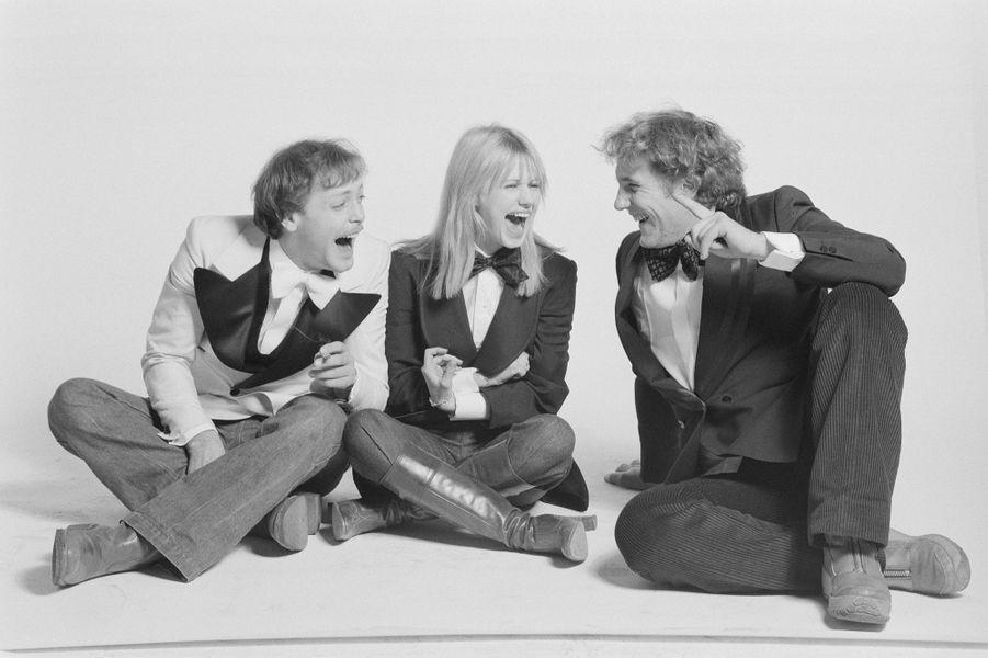 Gérard Depardieu avec Miou-Miou et Patrick Dewaere en 1975