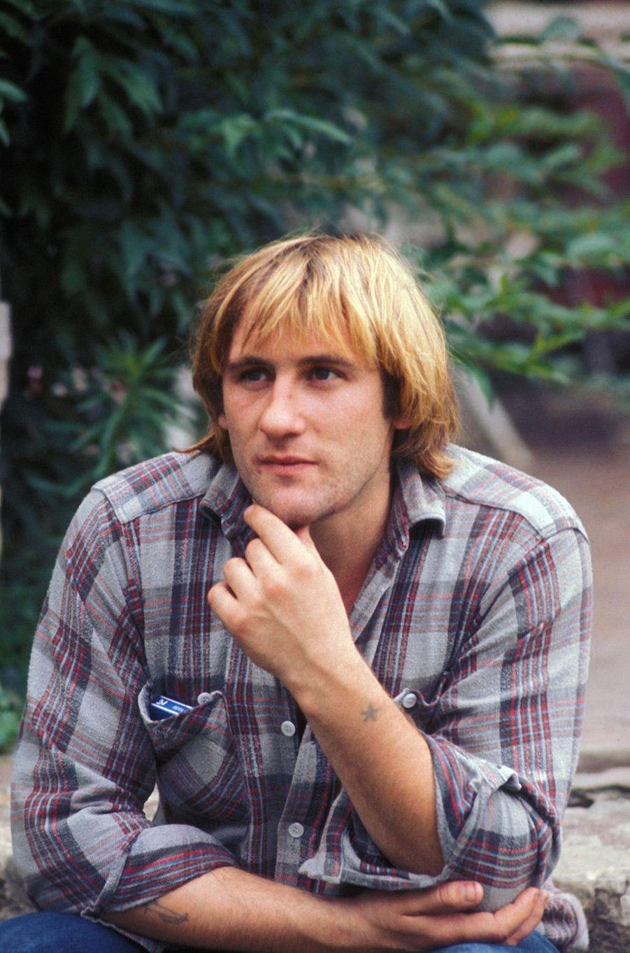 Gérard Depardieu en 1976