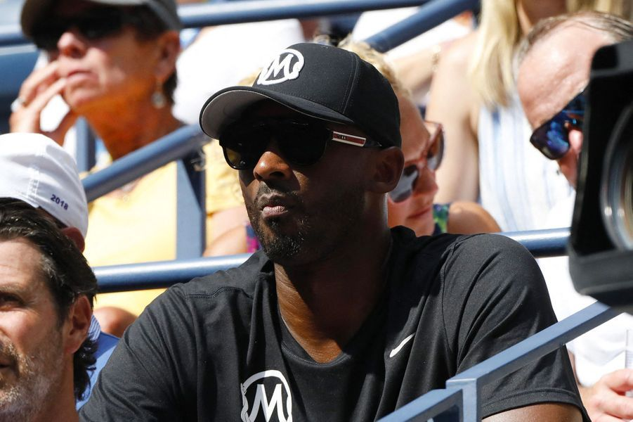 Kobe Bryant à l'US Open, le 30 août 2019.