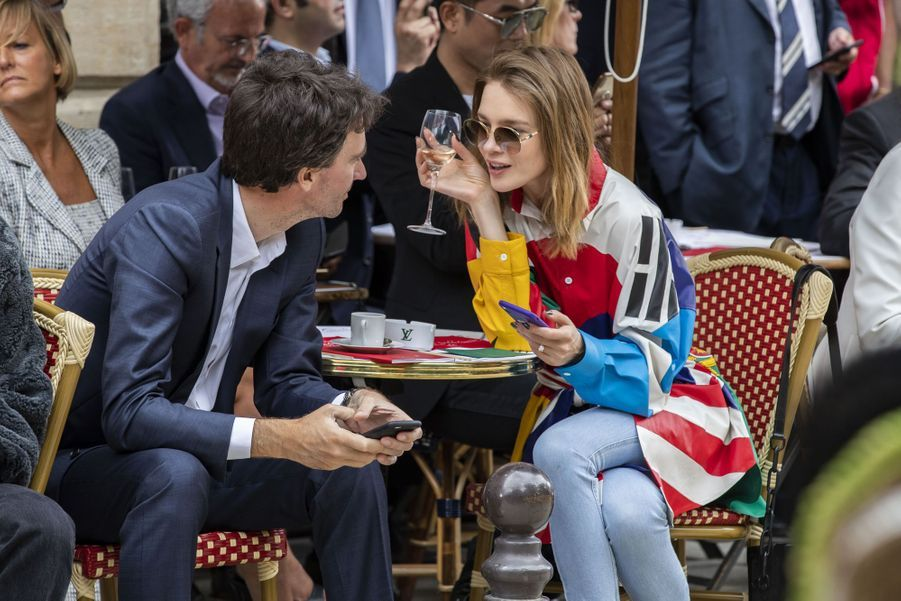 Antoine Arnault et sa compagne Natalia Vodianovaà Paris, le 20 juin 2019