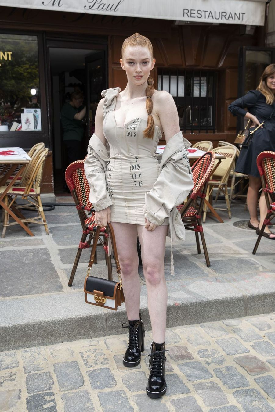 Larsen Thompson à Paris, le 20 juin 2019