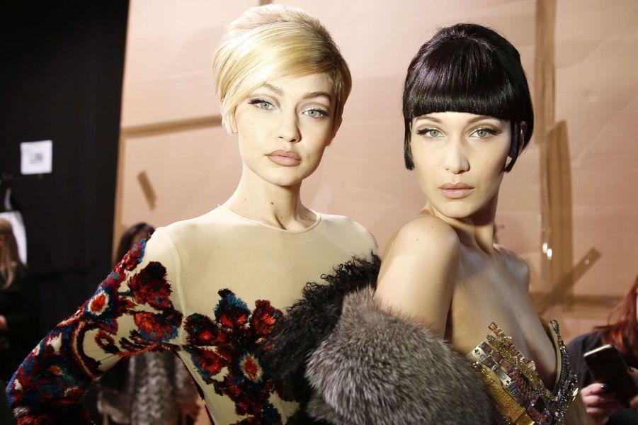 Les soeurs mannequins.