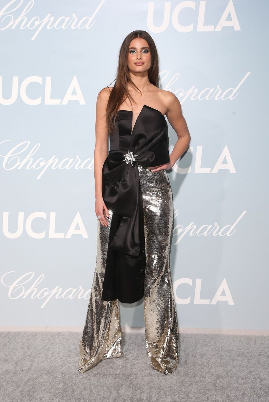 Taylor Hillà la soirée UCLA à Los Angeles, le 21 février 2019