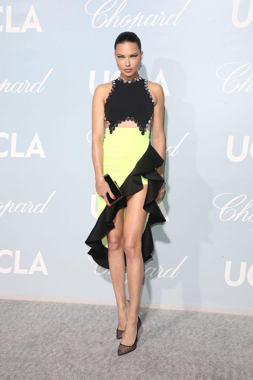 Adriana Limaà la soirée UCLA à Los Angeles, le 21 février 2019