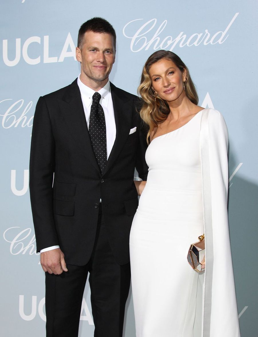 Tom Brady et Gisele Bündchen au Gala de Sciences de Los Angeles, le 21 février 2019