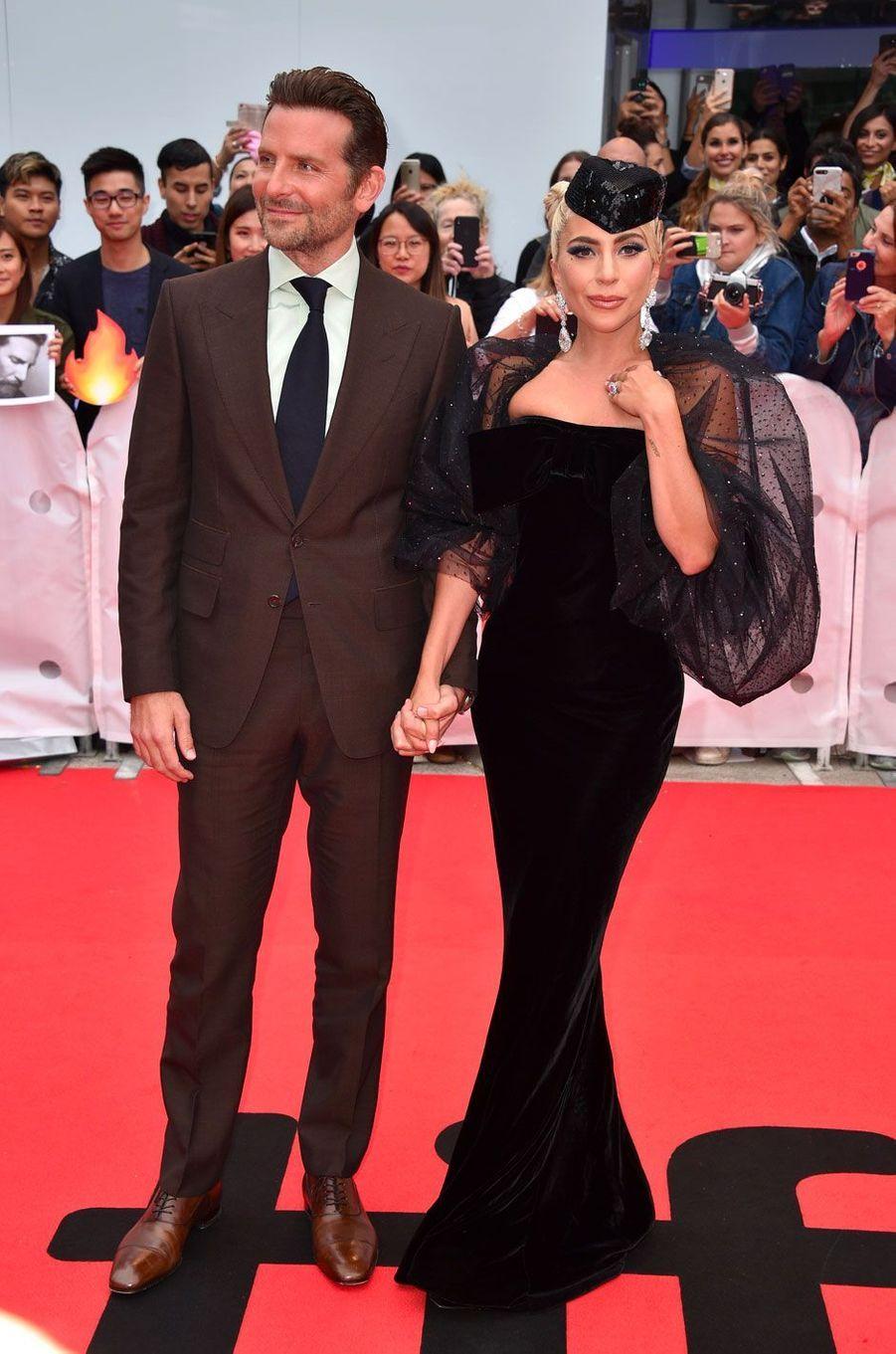 Lady Gaga et Bradley Cooper au Festival International du film de Toronto, le 9 septembre 2018