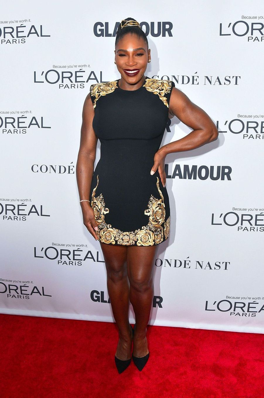 Serena Williams aux Glamour Women of the Year Awards