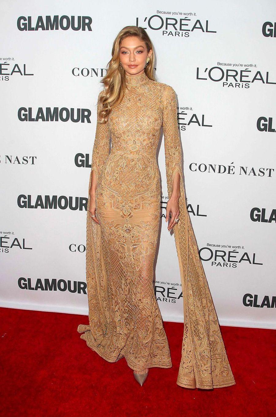 Gigi Hadid aux Glamour Women of the Year Awards