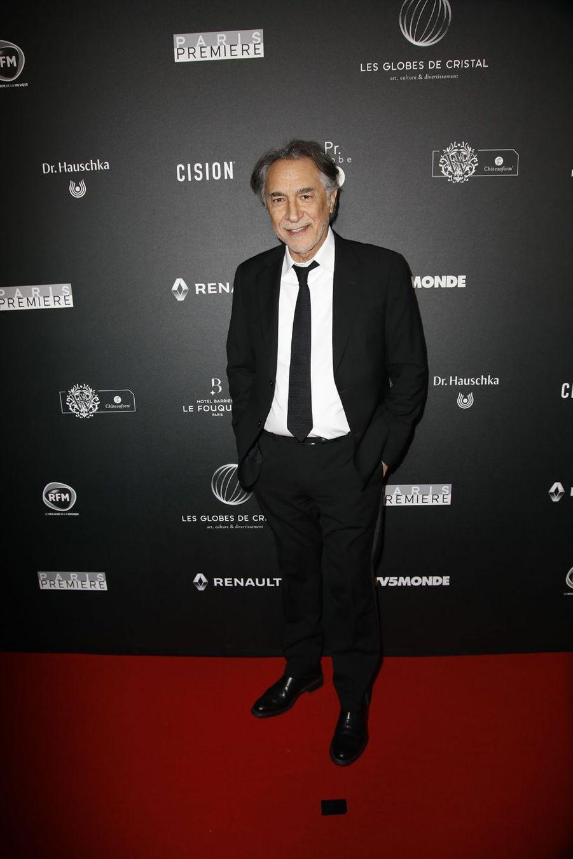 Richard Berrysur le tapis rouge de la 14e édition des Globes de Cristal à Paris le 4 février 2019