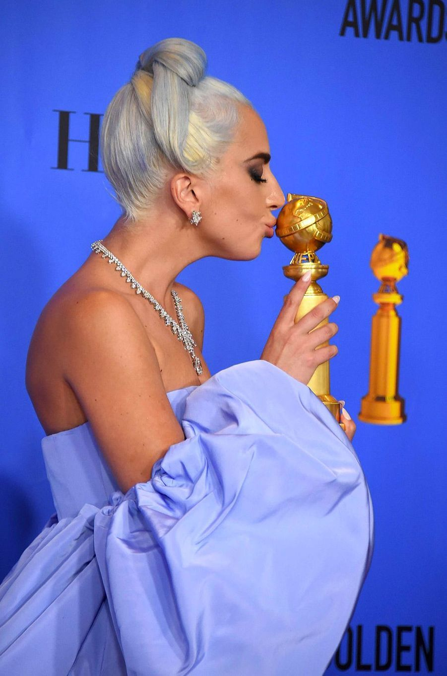 Lady Gaga aux Golden Globes 2019
