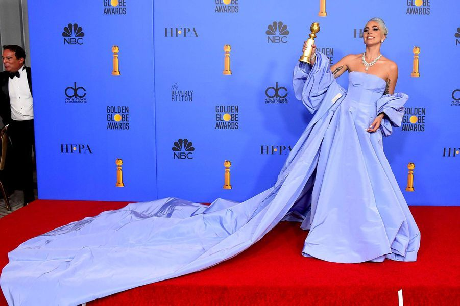 Lady Gaga aux Golden Globes 2019