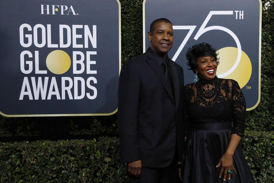 Denzel Washington et sa femme Pauletta
