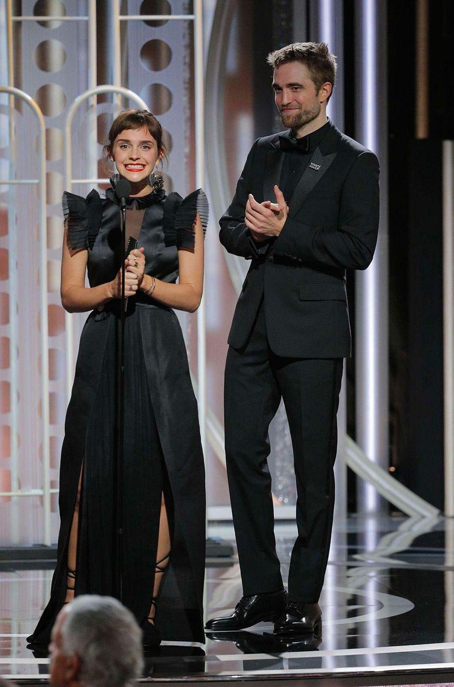 Emma Watson et Robert Pattinson
