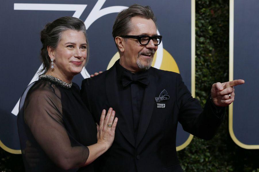 Gary Oldman et Gisèle Schmidt