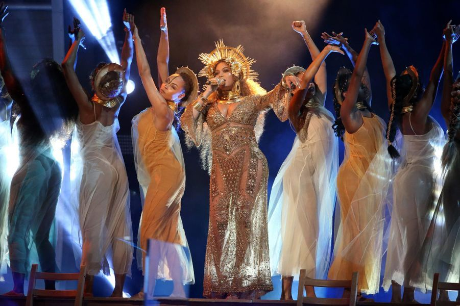 Beyoncé sur scène.