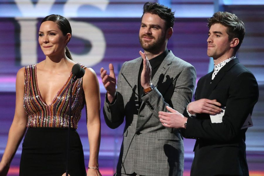 Le groupe The Chainsmokers.