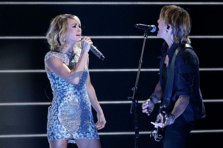 Carrie Underwood et Keith Urban.