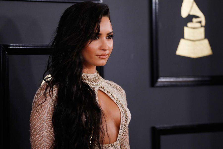 La chanteuse Demi Lovato.