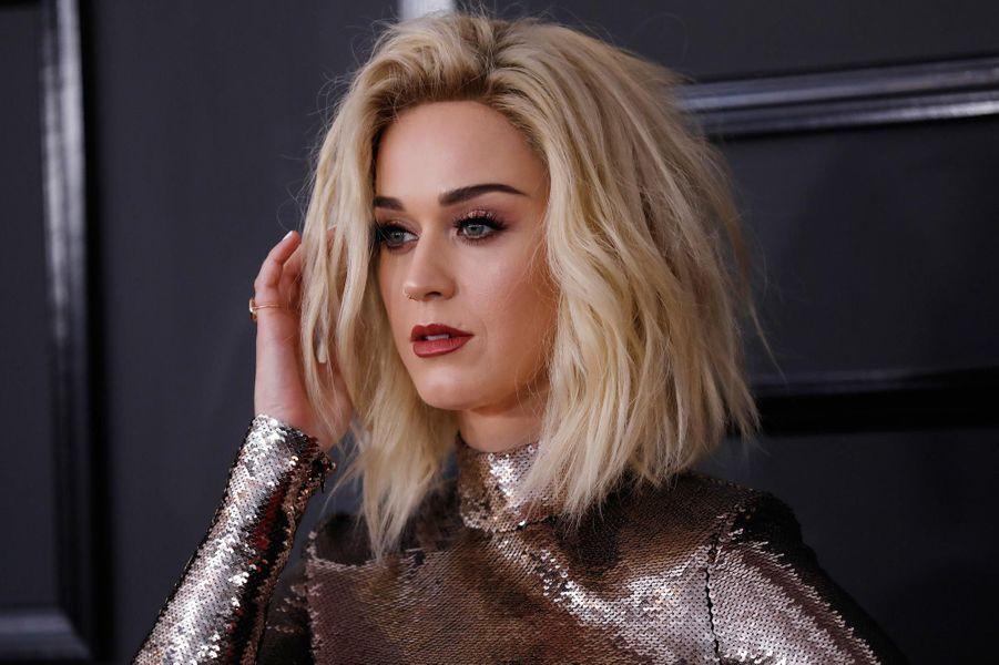 Katy Perry sur le tapis rouge.