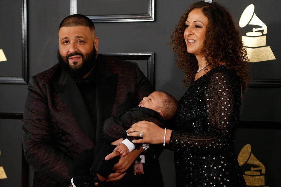 DJ Khaled et sa famille.